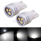 MZ 1W 150lm T10 3-2323 SMD 150lm White LED Car Clearance Lamps / License Plate Light (DC 12V / Pair)