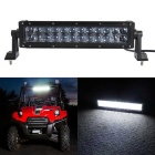 120W 24-LED Off-Road UTV Car Combo Beam Driving Lamp Work Light Bar w/ Lens - Black