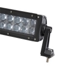 120W LED 24 Off-Road UTV coche Combo haz de carretera lámpara del trabajo Light Bar w / lente - Negro