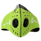 WOSAWE BC308-G Outdoor Dustproof Windproof Activated Carbon Breathable Cycling Mask - Apple Green