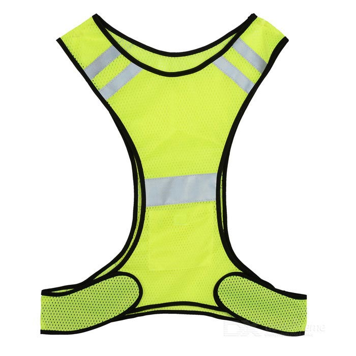 Cycling Reflective Vest for Adults - Fluorescent Yellow