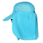 Wind Tour Outdoor 360 Degree Protection Quick-drying Breathable Anti-UV Sunhat - Sky Blue