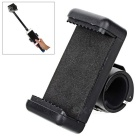 Selfie Monopod Mounted Cellphone Holder Clip for GoPro - Black