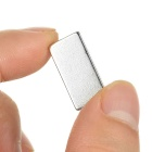 Rectangular Strong 20x10x3mm NdFeB Magnet - Silver (100PCS)