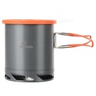 Fire-Maple FWS-K6 Portable Outdoor Camping Cooking Pot - Orange + Iron Grey