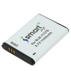 Ismartdigi 3.7V 1100mAh Camera Battery Compatible w/ SLB-1137D for Samsung NV106HD + More - White