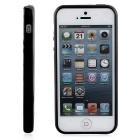Stylish Protective TPU Bumper Frame for IPHONE 5 / 5S / SE - Black