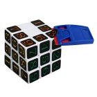 Magic cube sticker decal removedor de la herramienta de reemplazo - azul + amarillo