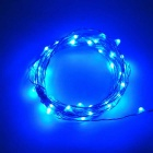 5M flexible impermeable luz de la secuencia azul LED 3W SMD 50-0603 Jiawen USB