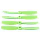 OCDAY 6045 Bull Nose Flat Strengthen Propellers for H250 - Green (2 Pairs)