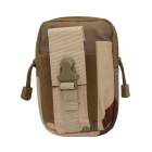 Outdoor Multi-functional Water-resistant Waist Bag - Desert Camo