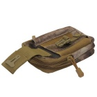 Outdoor Multi-functional Water-resistant Waist Bag - Camouflage