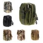 Outdoor Multi-functional Water-resistant Waist Bag - Forest Camouflage