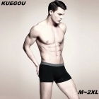 KUEGOU KNK-05 Men's Boxer Briefs Underwear - Black (XL)