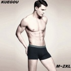 KUEGOU KNK-05 Men's Boxer Briefs Underwear - Gray (XL)