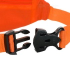 NUCKILY PM10 Waterproof Outdoor Sport Running Nylon Waistbag - Orange