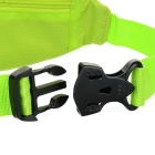 NUCKILY PM10 impermeable deporte al aire libre running nylon waistbag - verde
