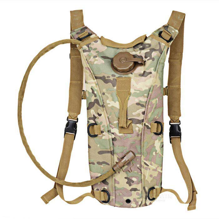 CTSmart Water Bag Hidratação bexiga Backpack - Multicam (2.5L)