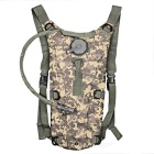 CTSmart Water Bag Hydration Bladder Backpack - ACU Camouflage (2.5L)