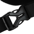 Basecamp Breathable Elastic Cycling Waist Bag - Black (2L)