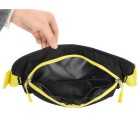 NatureHike NH15Y009-B Multifunctional Outdoor Cycling Waist Pack w/ Adjustable Strap - Black