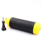 Lotopop Floating Handheld Grip for GoPro Hero 4 / 3+ / 3 Session Camera - Black + Yellow
