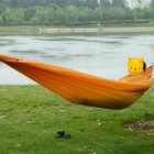 NatureHike Ultra Luz Nylon Casual Duplo Hammock - Orange