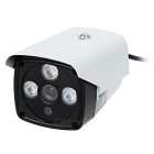 SEEHOO SE-KU7003 6mm Lens CMOS 1.3MP 3-LED Night Vision Security Surveillance IP Camera - White