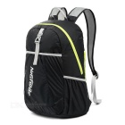NatureHike NH15A119-B Outdoor Portable Hiking Daypack Folding Backpack - Black (22L)
