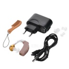 Rechargeable BTE Earhook Hearing Aid Personal Sound Amplifier