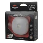 NatureHike 3-Mode 75lm 4 White LED + 3 Red LED Camping Lantern