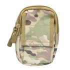 M3 600D Outdoor Multifunctional Water-Resistant Nylon Waist Bag - Camouflage