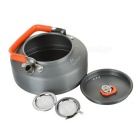 Fire-Maple FMC-T3 Portable Outdoor Camping Teapot w/ Tea Strainer - Dark Grey (0.8L)