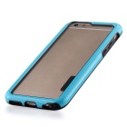 Stylish TPU Bumper Frame Case for IPHONE 6 / 6S - Black + Blue