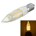 Marsing E14 6W 500lm Warm White 44-2835 SMD LED 3000K Corn Lamp Bulb (AC 220-240V)