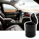 ZIQIAO Portable Car Ashtray - Black