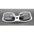 OSSAT 99358 UV400 Protection Polarized Outdoor Sports Cycling Sunglasses - White