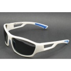 OSSAT 99357 UV400 Protection Polarized Outdoor Sports Cycling Sunglasses - White