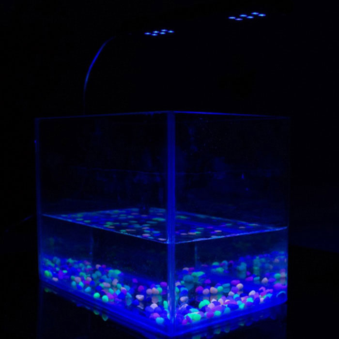 Jiawen jwhcx 081 3w 48 led clip on fish tank aquarium for Black light for fish tank