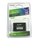 ismartdigi LP-E12 7.4V 1200mAh Camera Battery for Canon EOS M M2 M10 100D - White + Black