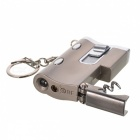 Multifunctional Windproof Butane Jet Cigarette Lighter w/ Counterfeit Money Detecting Lamp - Grey