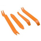 ZIQIAO Auto Car Radio Door Clip Panel Trim Dash Audio Removal Installer Pry Tool - Orange
