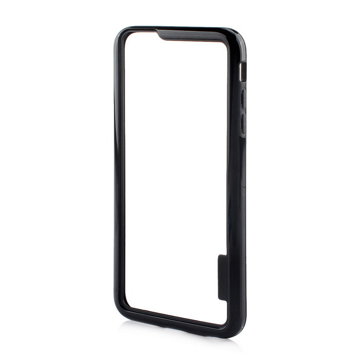 Stylish TPU Bumper Frame Case for IPHONE 6 PLUS / 6S PLUS - Black