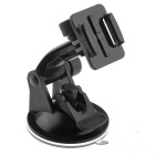 Chest Strap Head Mount Monopod Accessories Kit Case for GoPro - Black