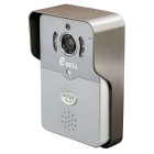 eBELL IP Wi-Fi Video Doorbell w/ Full Duplex Audio & Max. 64GB TF Card Slot - Silver Grey (UK Plug)