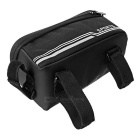 "CTSmart água-Resistant Tela Touch Bike Top Tube Bag w / Reflective Strip para telefones 5.5 ""-Preto"
