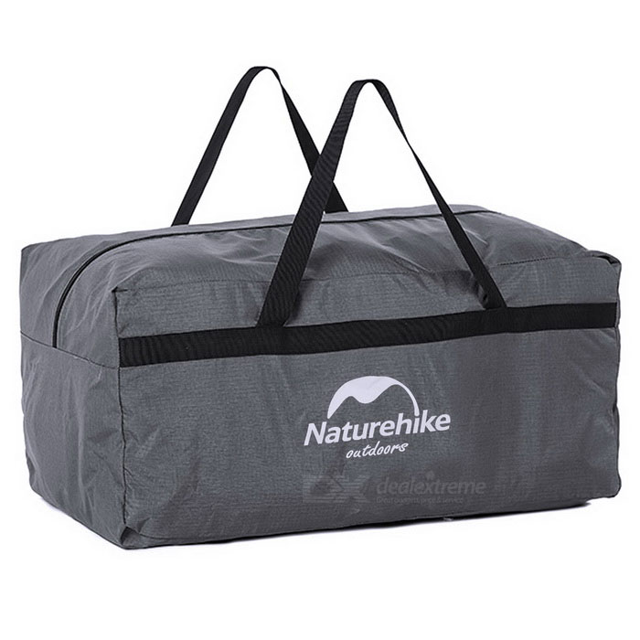 NatureHike Ultra-Large Outdoor Travel Camping Nylon Organizer Storage Bag Handbag - Grey (100L)