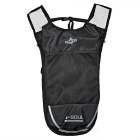Escalada ao Ar Livre / Ciclismo Shoulders Bag Mochila w / Water Bladder Compartimento - Preto + Prata (5L)
