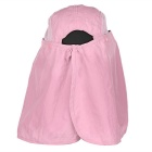 Wind Tour Outdoor 360' Protection Quick-drying Anti-UV Sunhat - Pink