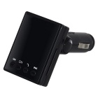 Car Cigarette Lighter Type BT MP3 Transmitter w/ Hands-free - Black